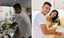 Rời bỏ bộ vest lịch lãm, sao nam Việt vẫn khiến fan nữ mê mẩn khi vào bếp 'rửa chén rửa bát'