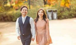 Tiến Đạt cười rạng rỡ bên bà xã giữa khung cảnh lãng mạn ở Hàn Quốc