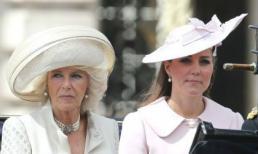 """Hoàng gia Anh từng đứng ngồi không yên vì lo Kate Middleton trở thành """"Camilla thứ 2"""""""