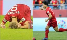Phản ứng đầu tiên của các tuyển thủ Việt Nam sau thất bại trước Nhật Bản