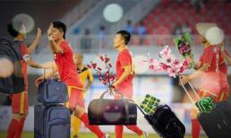 Ấm lòng trước bộ ảnh chế đội tuyển Việt Nam về quê ăn Tết sau khi dừng bước trước Nhật Bản