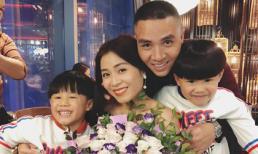 BTV Nguyễn Hoàng Linh đón sinh nhật ấm cúng  bên chồng con