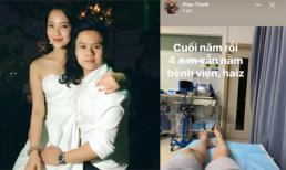 Phan Thành khoe ảnh nằm trong bệnh viện sau khi bạn gái xác nhận chia tay