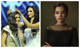 Nhan sắc tựa nữ thần, được so sánh với Kendall Jenner của tân Hoa hậu Liên lục địa 2018