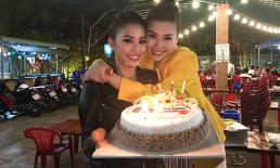 Hoa hậu Tiểu Vy bí mật tổ chức sinh nhật sớm cho Á hậu Diễm Trang