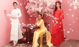 Hoa hậu H'Hen Niê, Á hậu Hoàng Thùy - Mâu Thủy khoe nét đẹp xuân thì ngày đầu năm mới
