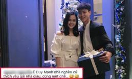 Cầu thủ Duy Mạnh bị nói 'nghèo mà thích yêu gái giàu' khi liên tục tặng quà đắt tiền, bạn gái phản pháo