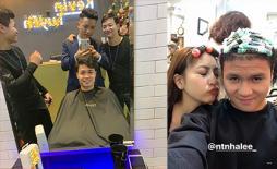 Các tuyển thủ Việt Nam đồng loạt 'xuống tóc' đón Tết 2019