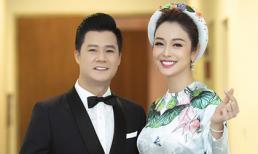 Jennifer Phạm đẹp rạng rỡ trong tà áo dài nền nã, hội ngộ chồng cũ Quang Dũng