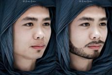 """Nhờ photoshop """"phù phép"""", các tuyển thủ Việt Nam bỗng hóa """"soái ca xứ Ả Rập"""""""