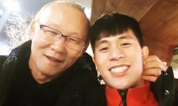 Vừa về tới Hàn Quốc, HLV Park Hang-seo lập tức qua thăm Đình Trọng