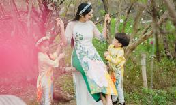 Hoa hậu Ngọc Hân không sốt ruột lấy chồng dù bị họ hàng thúc giục