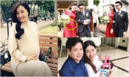Loạt mỹ nhân Việt 'ăn cơm trước kẻng', sinh con chỉ sau vài tháng kết hôn