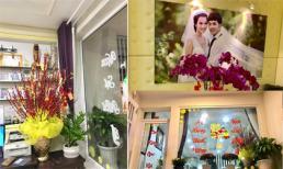 Không khí Tết ngập tràn trong ngôi nhà của vợ chồng Ưng Hoàng Phúc - Kim Cương