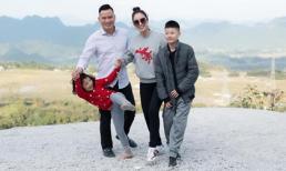 Hoa hậu Jennifer Phạm cùng gia đình dã ngoại cuối năm ở Mộc Châu