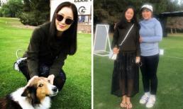 Đầu năm xuất hiện trên sân golf sang chảnh, Kim Tae Hee làm fan ngã ngửa vì chi tiết này