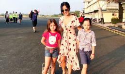Diva Hồng Nhung đưa 2 con song sinh cùng đi lưu diễn dịp Tết