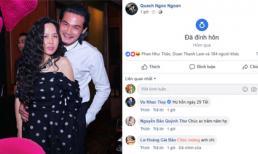 29 Tết, Quách Ngọc Ngoan bất ngờ đăng tải trạng thái 'đã đính hôn'