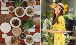 Sao Việt khoe bữa cơm, mâm cúng tổ tiên vào ngày 30 Tết