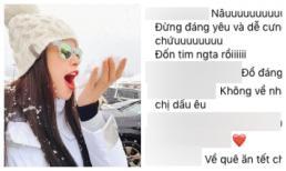 Hiếm họi mới thấy Phạm Hương đăng ảnh cận mặt, fan chỉ hỏi khi nào về Việt Nam