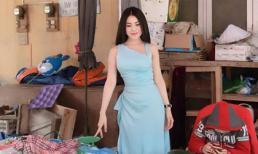 Ra chợ phụ mẹ bán trái cây, Thư Dung gây sốc khi ăn mặc gợi cảm khoe vòng một hết cỡ