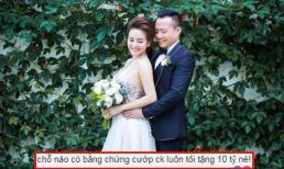 Tết đến, Vy Oanh vẫn mải khẩu chiến với anti-fan về chuyện giật chồng, hứa cho 10 tỉ nếu ai đưa ra bằng chứng