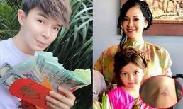 Sao Việt 7/2/2019: Hồng Nhung bị ngã xe máy ngay đầu năm, Nathan Lee khoe số tiền mừng tuổi 'khủng'