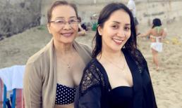 U70, mẹ ruột Khánh Thi vẫn tự tin diện bikini khoe thân hình không thể tin nổi