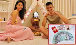 Con gái Thủy Tiên - Công Vinh sử dụng tiền mừng tuổi có được sau Tết Kỷ Hợi để ủng hộ người nghèo