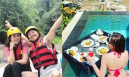 MC Mai Ngọc tận hưởng chuyến du lịch sang chảnh ở Bali cùng chồng