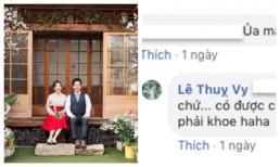 Bị trách khoe chồng quá nhiều, bà xã Đinh Tiến Đạt: 'Có chồng mừng quá phải khoe'