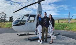 Khoe ảnh du lịch New Zealand, 'Hoa hậu con nhà giàu' Jolie Nguyễn hiếm hoi khoe mẹ ruột và anh trai