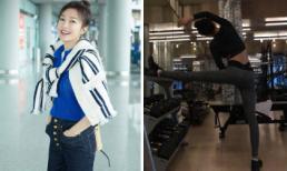 Vừa đặt chân tới Mỹ sau kỳ nghỉ Tết, Tần Lam đã khoe thân hình không chút mỡ thừa đáng ghen tị