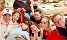 Trịnh Thăng Bình xuất hiện chung với người tình tin đồn Liz Kim Cương tại nhà Lý Quí Khánh