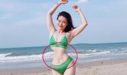 Ca sĩ Hải Yến khoe vòng eo 38 cm, khẳng định không photoshop nhưng dân mạng vẫn tìm ra điểm bất thường