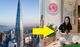 'Nữ hoàng gợi cảm' Clara xây hẳn một khu vườn bên trong tổ ấm giá hơn 700 tỷ ở tòa tháp cao nhất Hàn Quốc