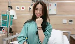 Hòa Minzy đón valentine trong bệnh viện, nhưng vẫn được bạn trai tặng quà khủng