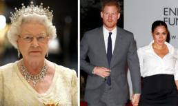 Nữ hoàng tiếp tục gây sốc khi để Meghan và Harry rời khỏi Hoàng gia trước thời hạn