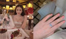 Thúy Vi công khai được bạn trai mới tặng nhẫn kim cương, hi vọng không bị 'mọc sừng'