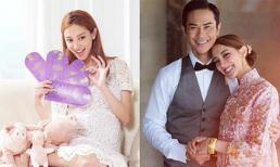 Hoa hậu Hong Kong hạ sinh quý tử cho nam tài tử Trịnh Gia Dĩnh