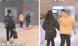 'Tương kế tựu kế' ở sân bay mà Lee Byung Hun và bà xã Lee Min Jung vẫn để lộ mặt con trai hot boy