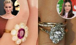 Nhẫn đính hôn của Katy Perry có giá hơn 100 tỷ nhưng bị soi giống chiếc nhẫn đính hôn mà Orlando từng tặng vợ cũ Miranda Kerr