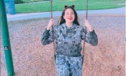 Hậu khoe nhẫn kim cương và hết ế, Phạm Hương lại chia sẻ về cuộc sống hiện tại