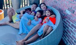 Gia đình Ốc Thanh Vân đi biển Vũng Tàu mừng sinh nhật 2 vợ chồng