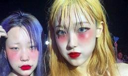 Mốt trang điểm 'say rượu' biến tấu đang phủ sóng khắp giới trẻ Hàn Quốc