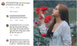 Bạn gái Quang Hải bị ném đá khi diện áo hở ngực đi chùa, fans lên tiếng bênh vực