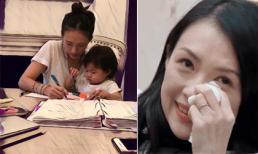 Con gái bám mẹ gọi điện thoại gào khóc không ngừng, Chương Tử Di nghĩ ra giải pháp này khiến cư dân mạng quyết liệt phản đối