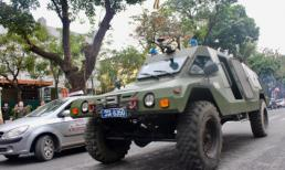 Công an Hà Nội xuất quân, triển khai xe bọc thép tăng cường an ninh cho hội nghị thượng đỉnh Mỹ - Triều