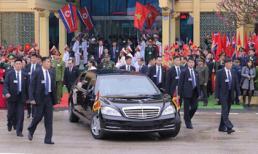 Siêu xe chở Chủ tịch Kim Jong Un vừa đến Việt Nam chống bom đạn siêu hạng cỡ nào?