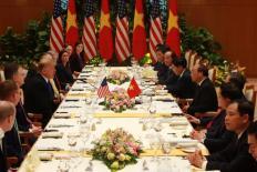Tổng thống Donald Trump được thiết đãi toàn đặc sản truyền thống của Việt Nam